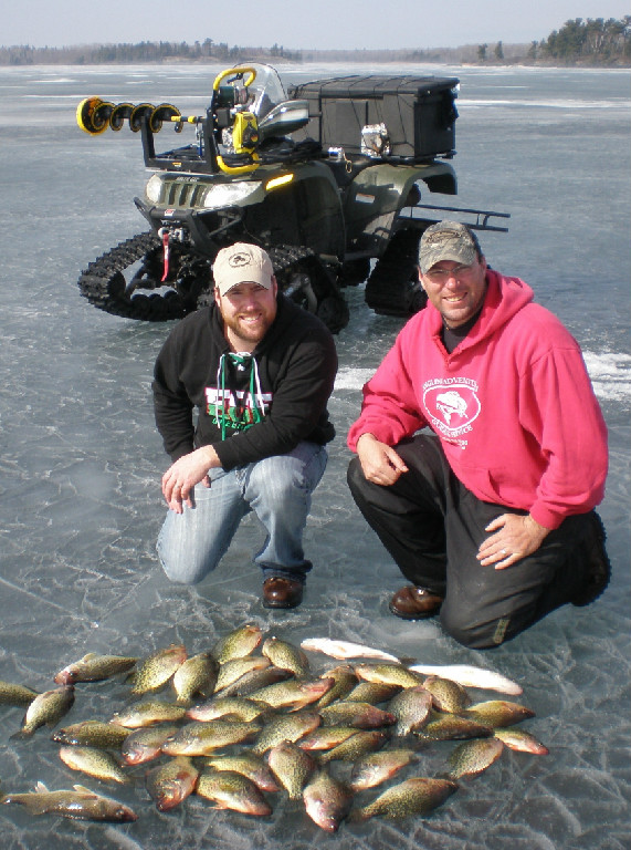 Fishing Lake of the Woods - December-March