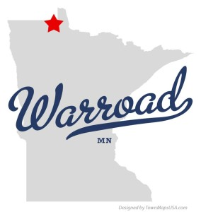 map_of_warroad_mn